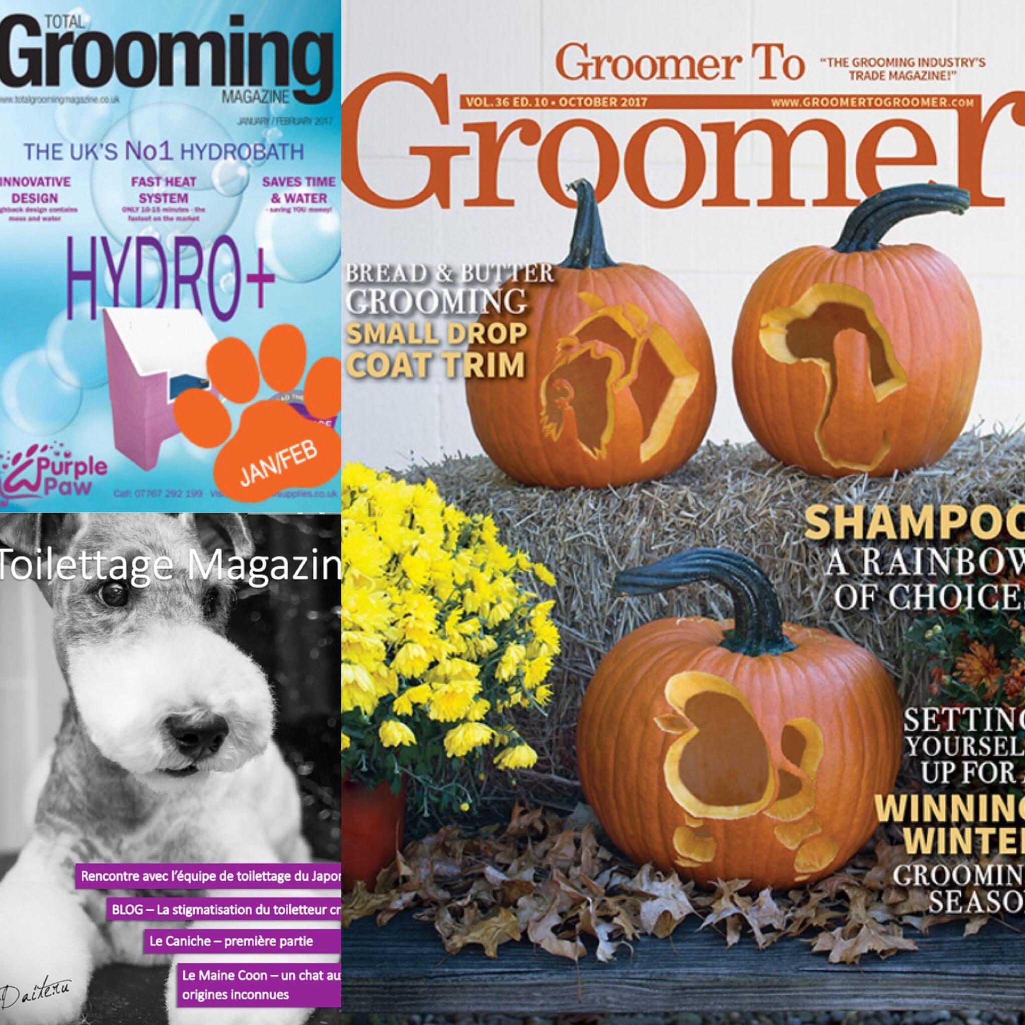 Tidningar för Hundfrisörer
